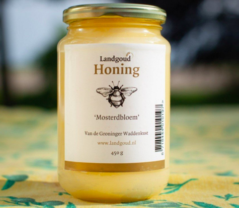 Crème gele mosterd honing