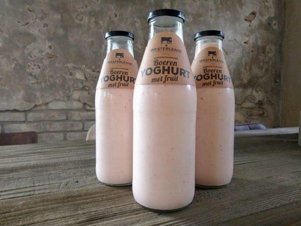 Westerleane Aardbeien Yoghurt