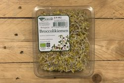 Broccolikiemen - Peuleschil