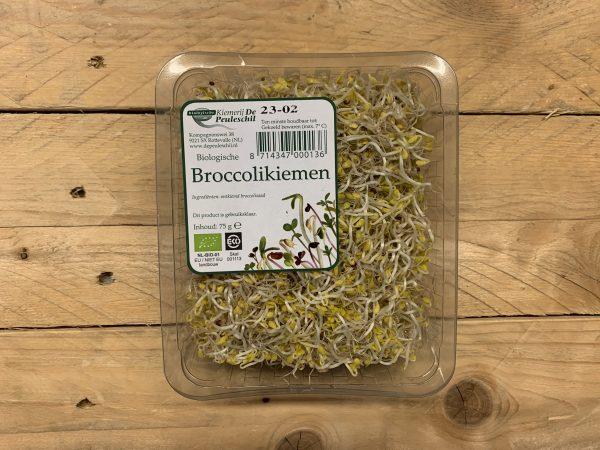 Broccolikiemen - Peuleschil