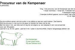 Procureurstukrecept Varkens Van De Kempenaer