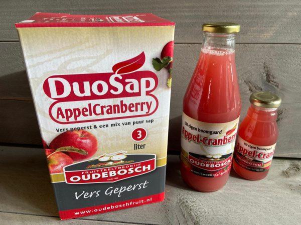 Appel Cranberrysap  Oudebosch