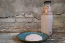 Aardbeiyoghurt  Westerleane