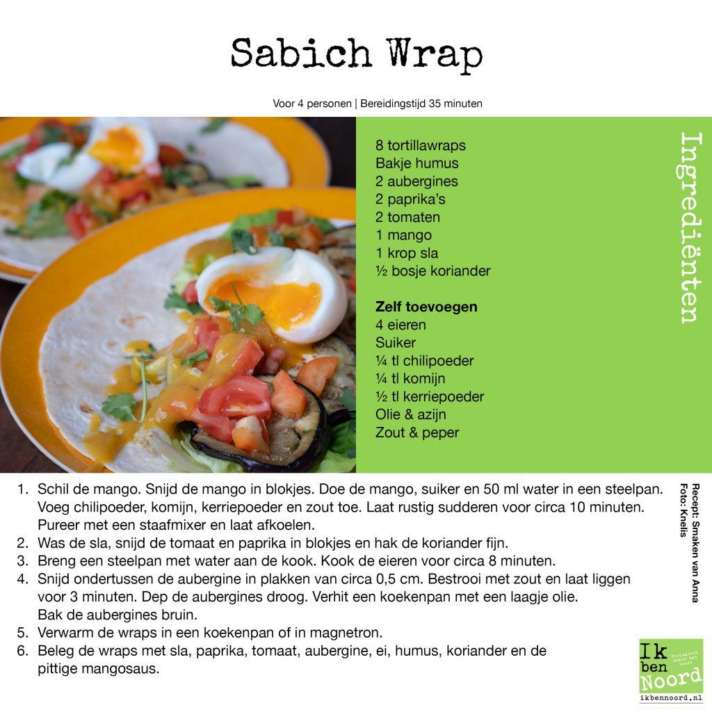 Sabich Wrap