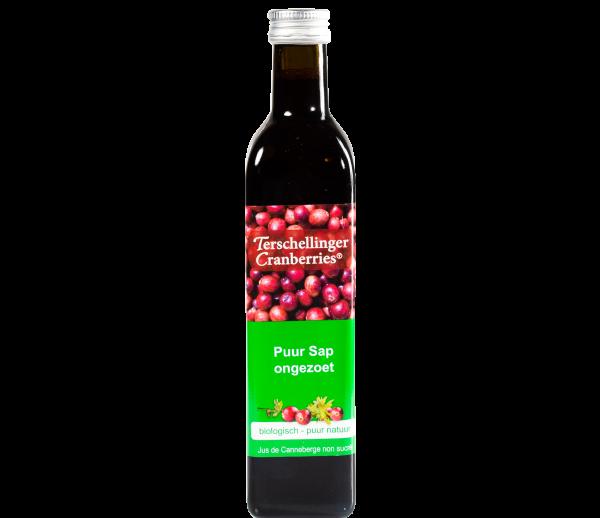 Cranberrysap Ongezoet Biologisch  Ml